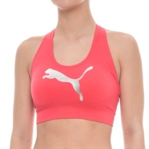 Puma Low Support Seamless Sports Bra Large NWT